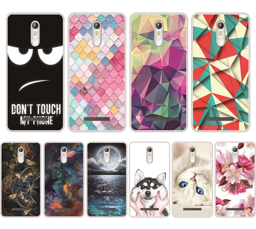 Case For Leagoo M8 Soft Silicone TPU Chic Patterned Painted Cover For Leagoo M8 Phone Case