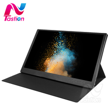 Lantastion thin portable lcd hd monitor 15.6 usb type c hdmi for laptop,phone,xbox,switch and ps4 portable lcd gaming monitor недорого
