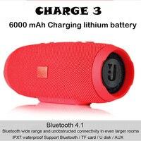 20W Portable Outdoor Wireless Bluetooth Speaker Super Bass Speaker Subwoofer Waterproof IPX7 Charge3 column speaker For phone /