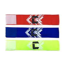 цена на Football Captain Armband Sports Suppliers Paste Winding Sleeves Red Blue Green Group Armband Football Training