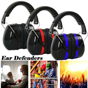 Folding Ear Defenders Protective Earmuffs Noise Cancelling Ear Covers Noise-Cancelling Anti-Noise Protectors Hearing Practical