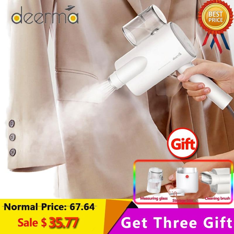 Original Deerma DEM-HS006 Foldable Handheld Garment Steamer Steam Iron Household Portable Small Clothes Wrinkle Sterilization