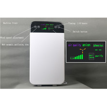 Purificador de ar 3h filtro hepa grande ionizador negativo carvão ativado para casa fresco escritório remover formaldeído bactérias anion