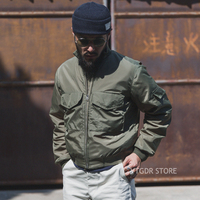 Bronson US Navy WFS Flight Jacket Vintage WEP Type G 8 Pilots Military Uniform
