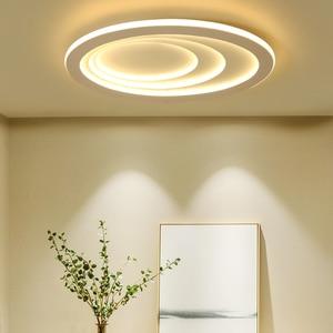 Image 3 - Plafonnier led à haute luminosité, design moderne, éclairage dintérieur, luminaire de plafond, montage en surface, idéal pour un salon, une chambre détude ou un bureau