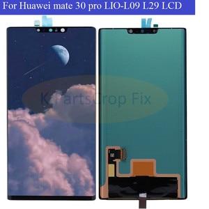 Image 2 - Pantalla LCD Original Super AMOLED para Huawei Mate 30 Pro, montaje de digitalizador con pantalla táctil, reparación para mate 30 pro LIO L09 L29 LCD