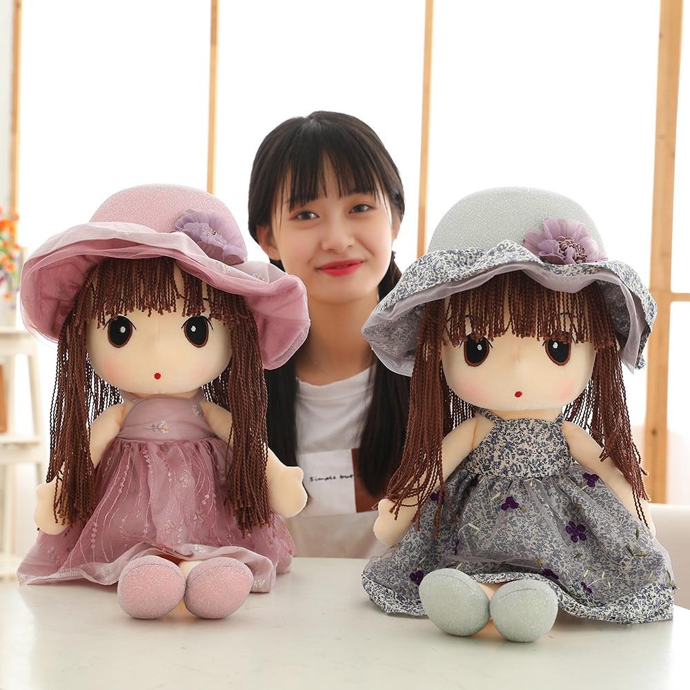 Cute Cartoon Original Stuffed Doll High Quality Wear Sun Hat Mayfair Dolls Plush Toys For Children Girls Christmas Birthday Gift