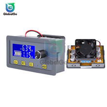 5A 160W DC Adjustable DC Power Supply Module With Fan DC-DC 6-32V to 0-32V Adjustable Voltage Regulator Step Down Buck Converter adjustable power supply module dc dc converter 5a step down buck module voltage regulator 6v 32v to 0 32v lcd display cc cv