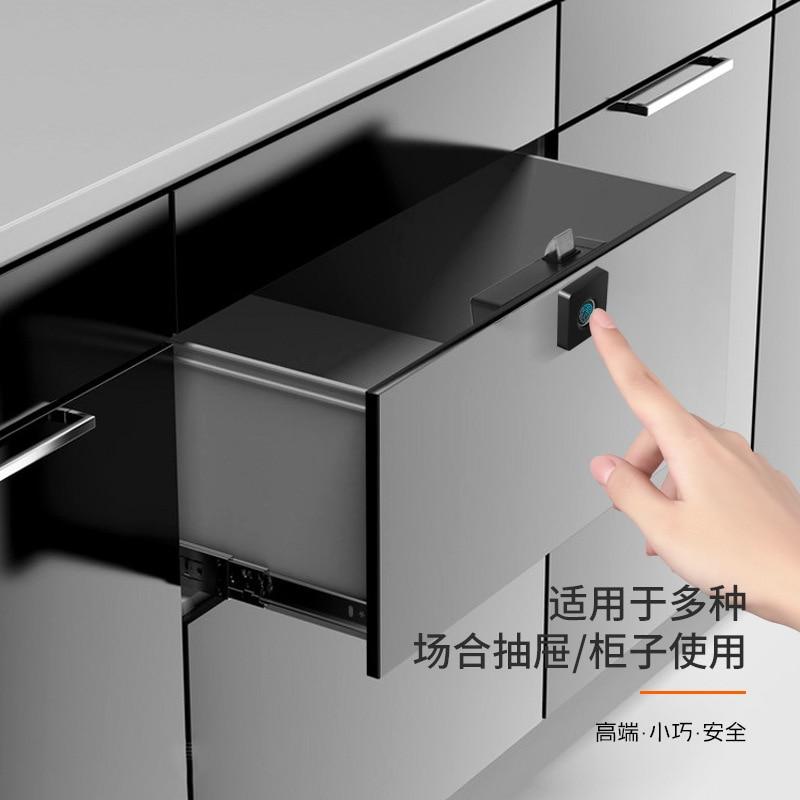 Intelligent Fingerprint Drawer Lock Furniture File Cabinet Shoe Cabinet Letter Box Fingerprint Drawer Locks Manufacturer