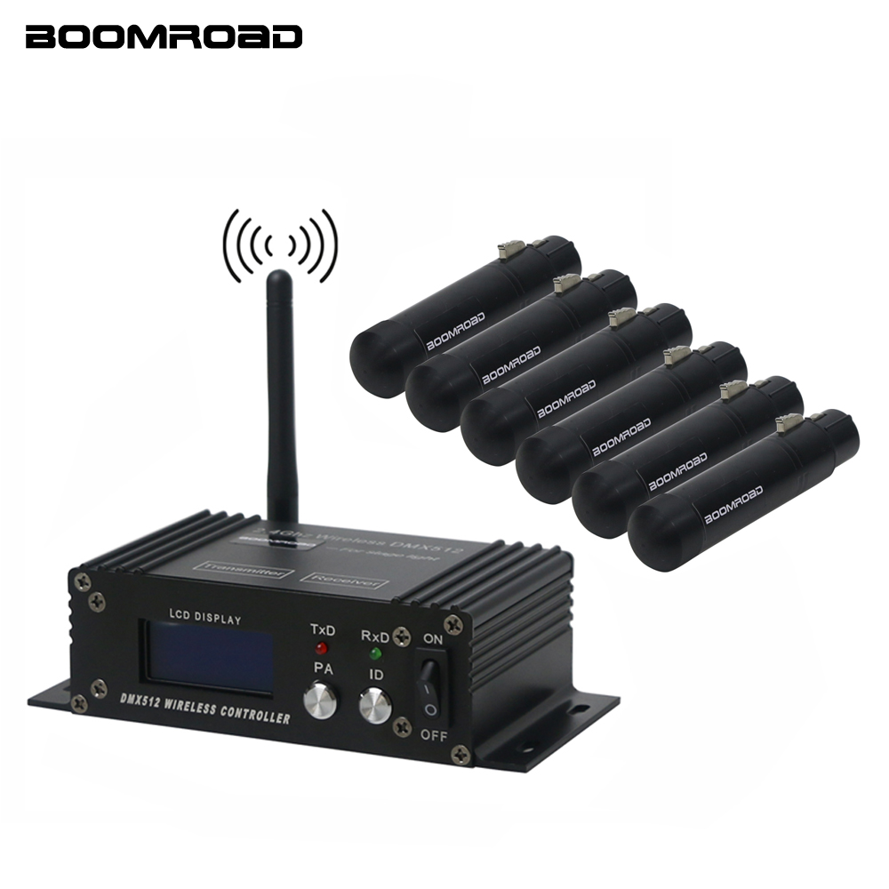 DMX512 Wireless Controller Receiver Transmitter 2.4G ISM Dif LCD DMX Controller For Stage Par DJ Disco Bar Lights Moving Heads