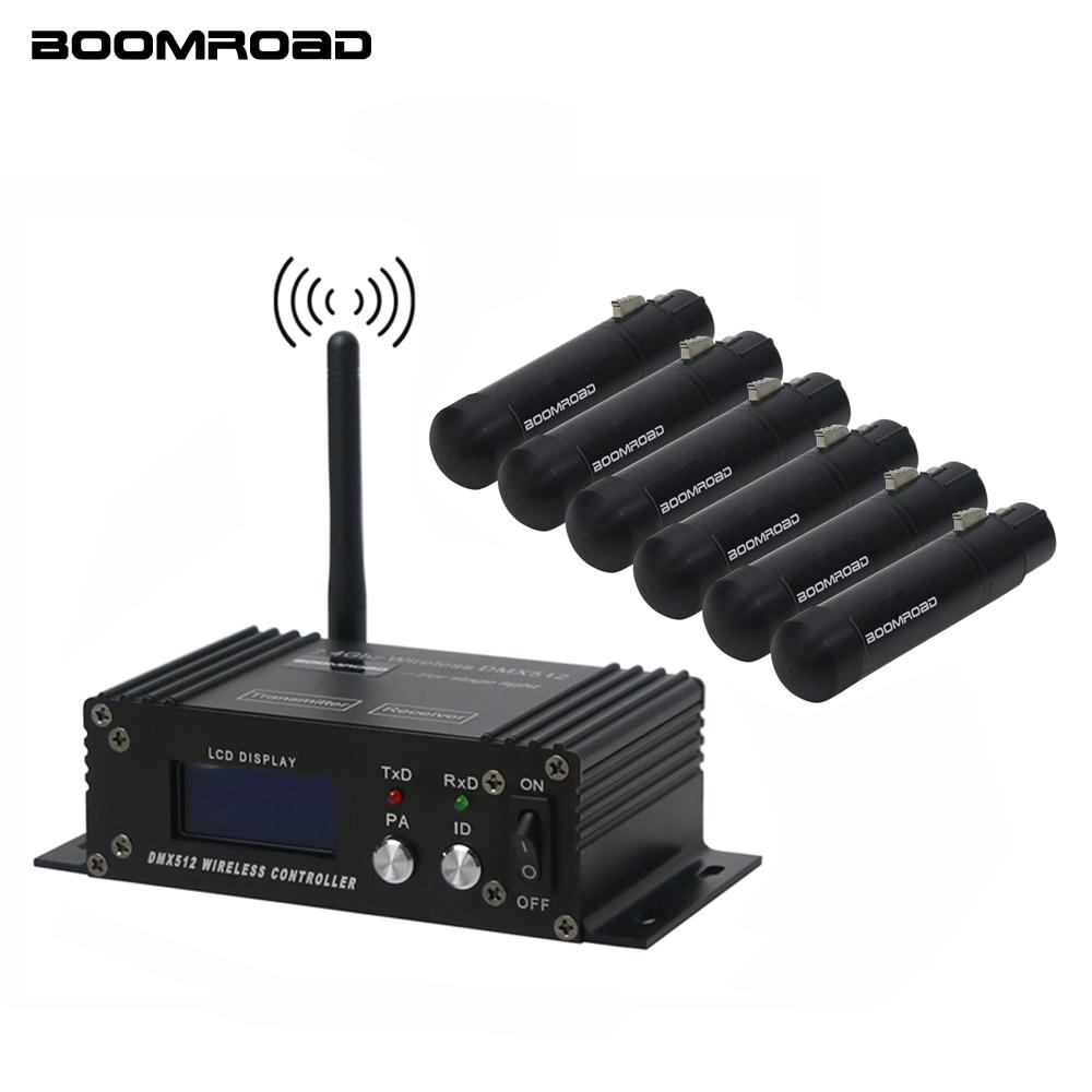 DMX512 Wireless Controller Receiver Transmitter 2.4G ISM Dif LCD DMX Controller For Stage Par DJ Disco Bar Lights Moving Heads