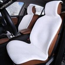 Fundas de piel sintética para asientos de coche, accesorios de coche para honda accord 2017 vw passat b7.5 bmw, cuatro estaciones