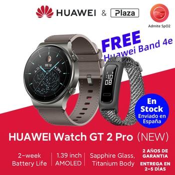 En Stock versión Global HUAWEI Watch GT 2 Pro GT2Pro SmartWatch 14 días batería de vida GPS carga inalámbrica Kirin A1 SPO2