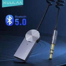 Aux adaptador bluetooth carro 3.5mm jack dongle cabo handfree carro kit transmissor de áudio auto bluetooth 5.0 receptor