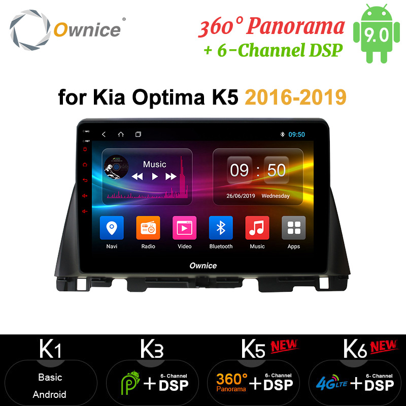 Ownice Octa Core 4G RAM 64G ROM carplay <font><b>10.1</b></font> Android 10 Car Radio DVD Player DSP 4G LTE SPDIF <font><b>360</b></font> for Kia K5 Optima 2016-2019 image