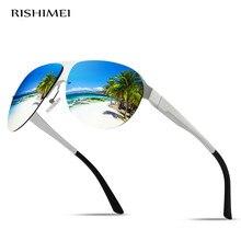 Classic and stylish aluminum and magnesium frame polarized sunglasses · Men's outdoor driving sunglasses UV400