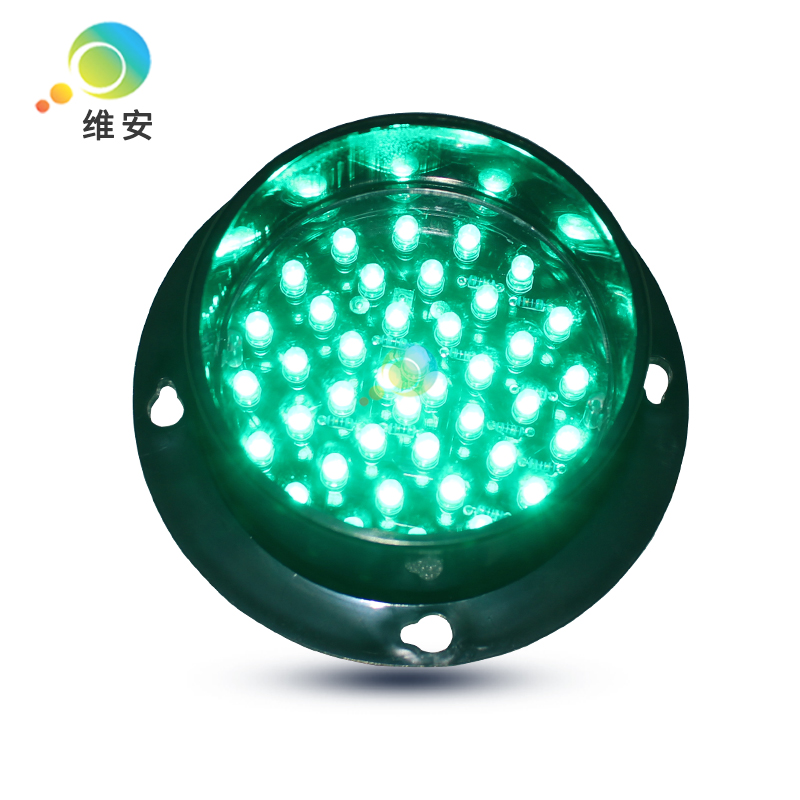 DC12V Or DC24V High Quality Mini Waterproof 82mm Lamp Green LED Flashing Traffic Light
