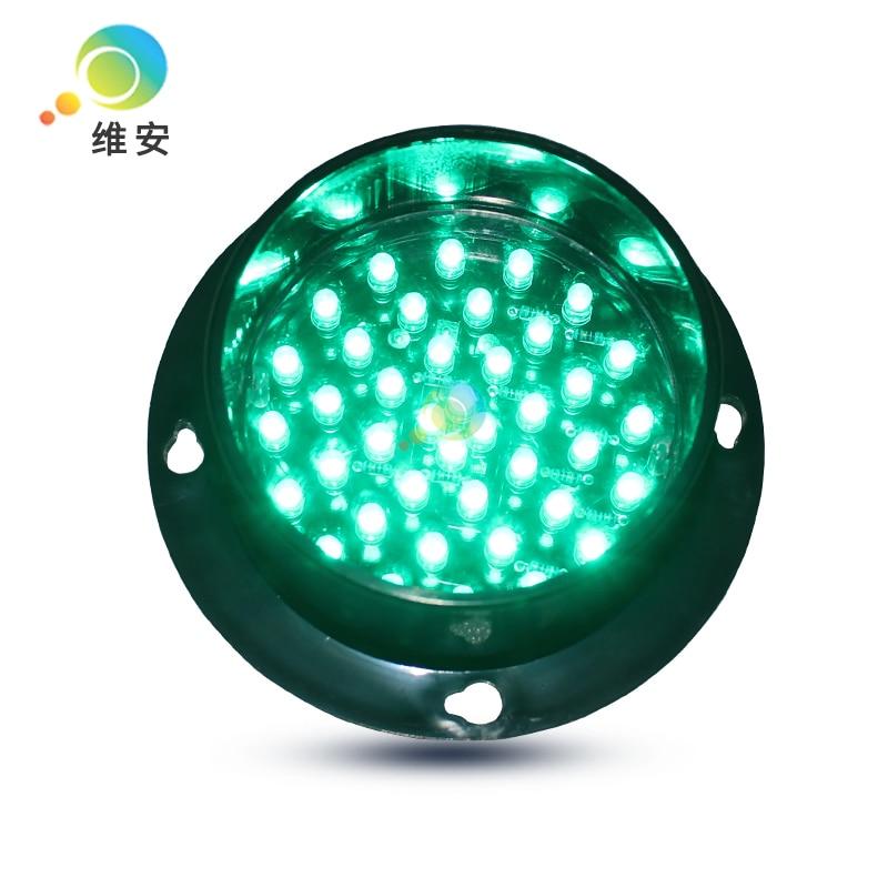 DC12V Or DC24V High Quality Mini Waterproof 82mm Lamp Green LED Flashing Traffic Light