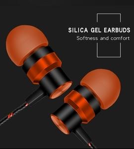 Музыкальные наушники в ухо, проводные наушники, линейный контроль, сабвуфер, супер бас гарнитуры с микрофоном для Xiaomi Apple