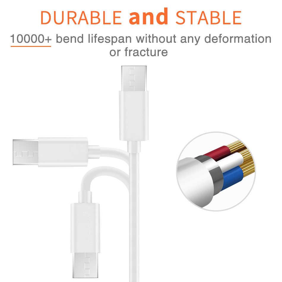 Cable Micro USB cargador Micro USB línea de alambre Android Cable Kabel para Huawei Honor 7 6 9i P9 P8 Lite nova3i