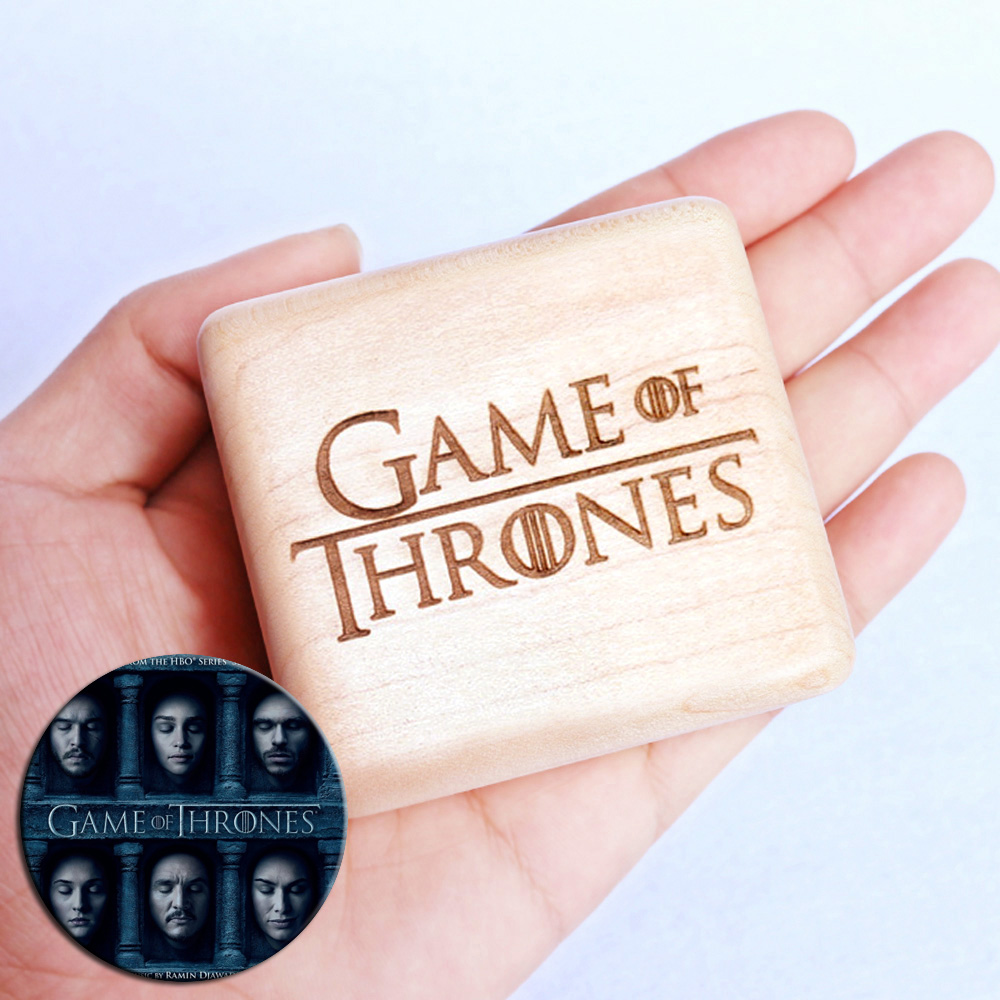 Sinzyo Handmade Wooden Game of Thrones Music Box Wood Carved Mechanism Musical Box special Gift For Christmas Valentine's day-in Music Boxes from Home & Garden    1