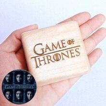 Handmade Wooden Game of Thrones Music Box