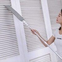 Nuevo Producto  limpiador de polvo antipolvo  plumero de microfibra Flexible  cepillo de polvo de limpieza para el hogar con mango largo