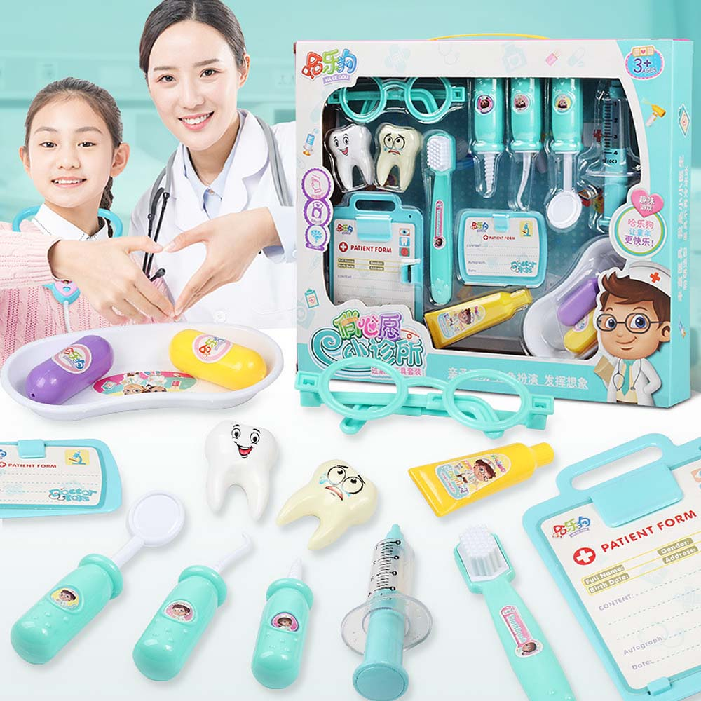 Girls Games Kids Doctor Set Hospital Pretend Play Dentist Toys Role-playing Games Medical Kit Dr. Toys For Children Gift