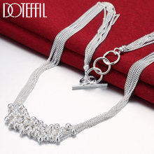 Женское Ожерелье doteffil из стерлингового серебра 925 пробы