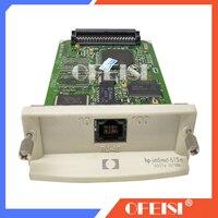 Asli Baru Jetdirect 615N J6057A 10/100tx Ethernet Print Server Internal Kartu Jaringan untuk HP Printer Designjet Plotter Printer