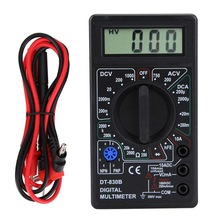 Digital Multimeter Ohm-Tester DT830B Handheld 750/1000V LCD High-Safety Ac/Dc