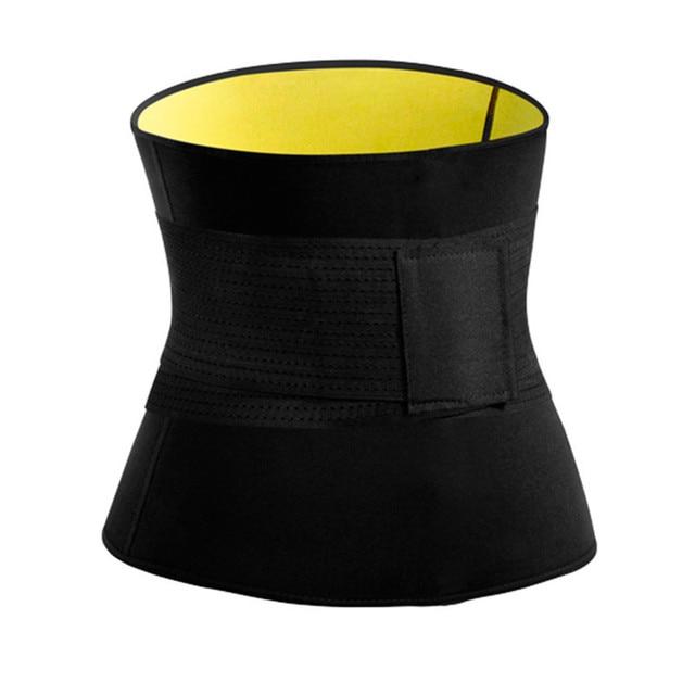 Mens Thermo Neoprene Body Shaper Waist Trainer Belts Slimming Corset Waist Support Sweat Underwear Strap Modeling Shapewear Sets 4