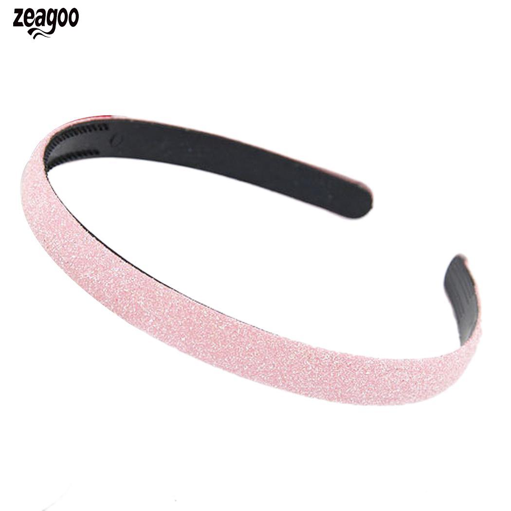 Women Fashion Solid Sequin Headband Hair Band Casual, Street, Outdoor Gift Spring, Summer, Fall