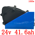 24V 500W 1000W литиевая упаковка 24V 40AH электрическая велосипедная батарея 24V аккумулятора электроскутера с 50A BMS и 29 4 V 5A зарядным устройством