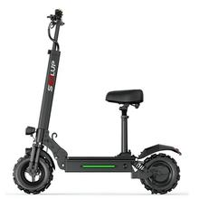 three wheel electric tricycle 8 inch 3 wheels electric bicycles seat max range 50km 48v 500w foldable kick electric scooter Off Road Electric Bike 2 Wheels Electric Bicycles 11 Inch 500W 48V Portable Folding Electric Skateboard Scooter With Seat