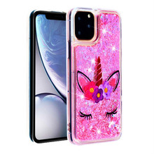 Unicorn Quicksand Phone Case for Iphone 11 Pro Max Coque 5 5s SE 6 6s Plus 7 Plus 8 Plus X XS Max XR 10 Transparent Back Cover new iphone case for iphone 11 for iphone11 pro max 5 8 inches 6 1 inches 6 8 inches 6 6s 7 8 plus ix xr max x fashion back cover