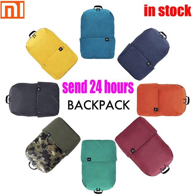 الأصلي شاومي حقيبة الكتف 10L165g حقيبة الصدر الرياضية غير رسمية مناسبة للرجال/النساء حجم صغير حقيبة الكتف حقيبة ملونة