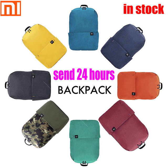 Original xiaomi shoulder bag 10L165g casual sports chest bag suitable for men / women small size shoulder bag colorful bag