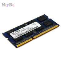 ELPIDA 4GB 2RX8 PC3-10600S-9-10-F2 EBJ41UF8BCS0-DJ-F SODIMM de 204 pines