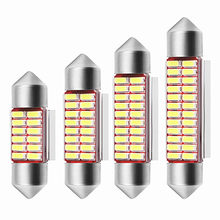 1 Pc Auto Interieur Doom Lamp Auto Styling Licht Festoen 31 Mm 36 Mm 39 Mm 42 Mm Led Lamp super Heldere 4014 Smd Auto Accessoires(China)