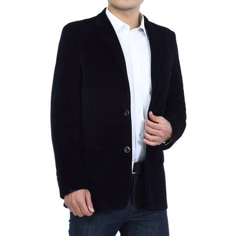 Mens Corduroy Blazers 2018 Autumn Men Blazer Smart Casual Jacket Solid Camel Black Cotton Business Suit Jackets Men Officer 4XL Islamabad