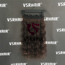 Ends-Machine Human-Hair-Extensions Clip-Hair-One-Piece 50CM Stocks Easy-Do Natural-Wave