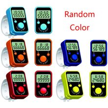 LCD Digital Digit Electronic Hand Finger Tally Counter For Golf, School & Spot New 2020