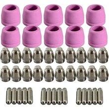 Torch-Consumables-Kit WSD-60 Plasma-Cutter SG-55 WELD AG-60 TIPS 40/50/60-amp 45pcs
