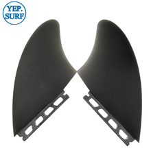 Surf Future/FCS surf fins Surfing black color Surfboard Fins Future Keel fin twin set Sell In