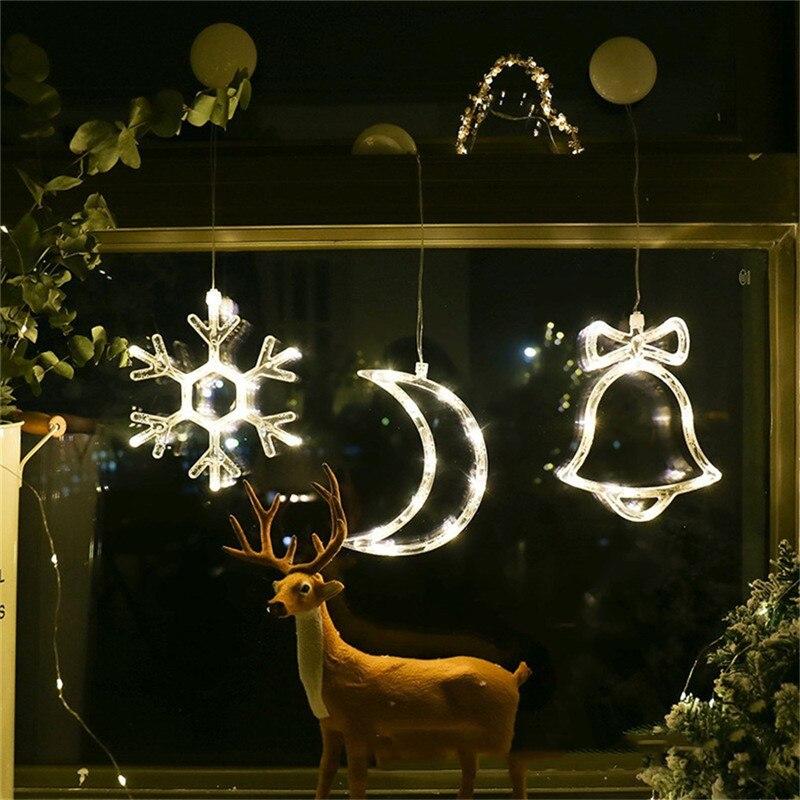 ornamentos de natal pendurado luz led decoracao 04