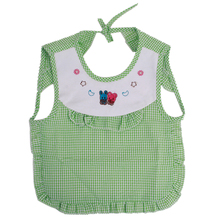 Waterproof Bib Apron Cloth Cleaning-Supplies Lace-Up Baby Child Cartoon Absorbent High-Quality