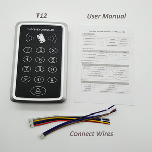 Image 5 - 125Khz Rfid erişim kontrol sistemi tuş takımı kart kapı kilidi erişim denetleyicisi