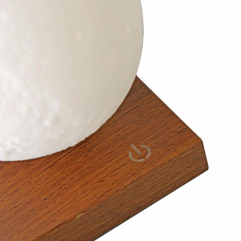3D принт магнитная левитация светодиодный светильник s креативная спальня Луна ночные лампы украшение подарок на день рождения сенсорный ко... - 4
