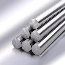 303 haste redonda métrica do eixo linear do diâmetro 4mm-18mm da haste de aço inoxidável 100/200/300/400mm/500mm/600mm/700mm/800mm comprimento